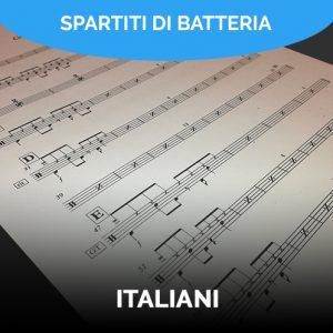 Spartiti batteria italiani